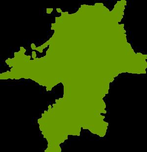 福岡県地図