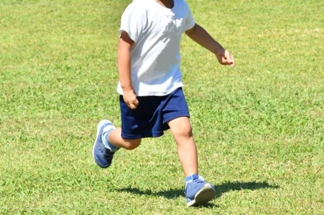 男の子_走る